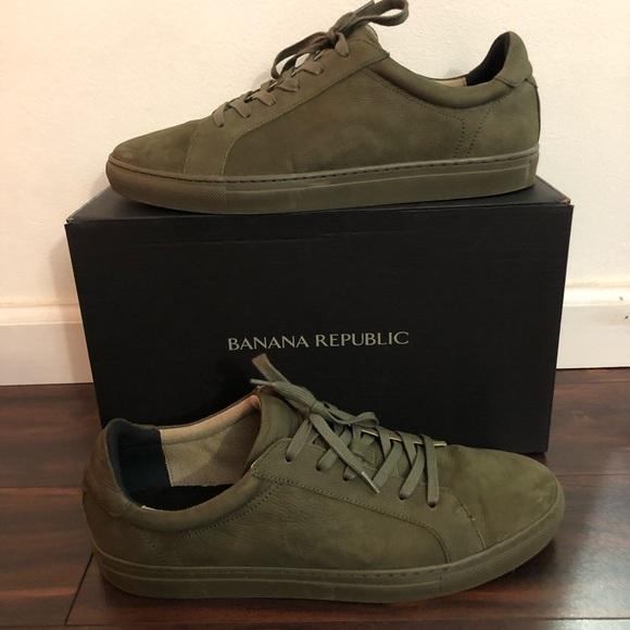 Banana Republic Nicklas Suede Sneakers